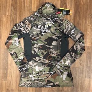 🦌 NWT Under Armour ColdGear Hunting Turtleneck